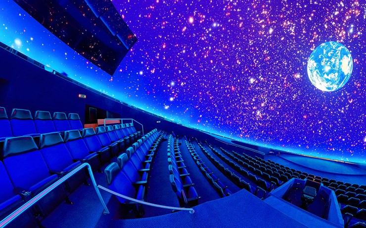 new digital planetarium