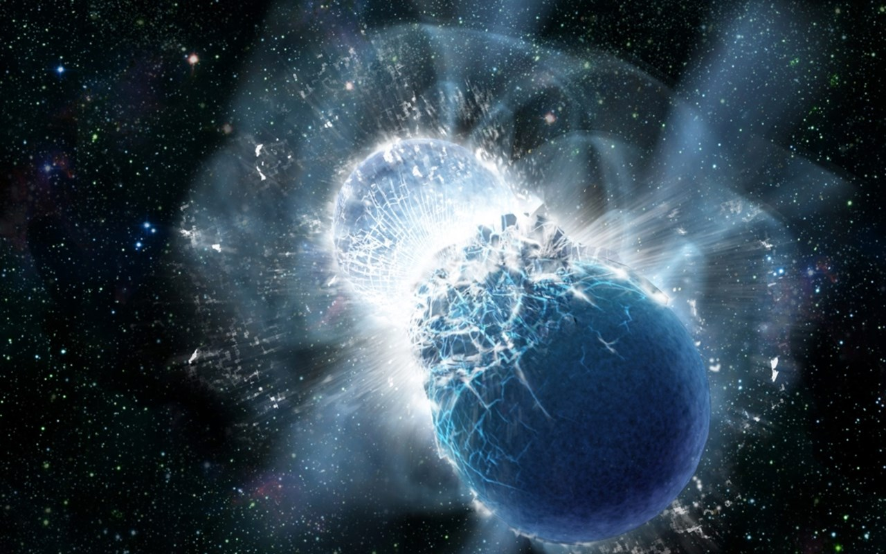 Σύγκρουση αστέρων νετρονίων: Η πρώτη στην ιστορία ανίχνευση βαρυτικών κυμάτων και φωτός από το ίδιο φυσικό φαινόμενο οδηγεί την αστρονομική έρευνα σε μία νέα εποχή.
